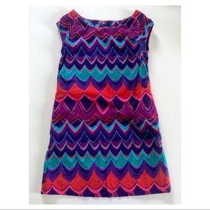 S 6-7Y GapKids Sapphire Corduroy Dress